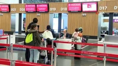 ispanya -  İstanbul Havalimanı'nda yarıyıl tatili yoğunluğu