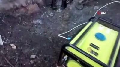 Kahramanmaraş'ta kaçak kazı yapan 3 kişi yakalandı