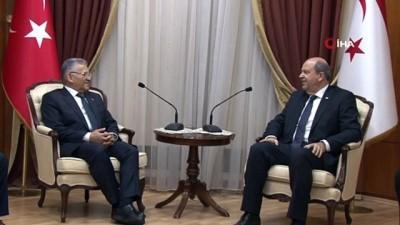- KKTC Başbakanı Tatar, Kayseri Belediye Başkanı Büyükkılıç'ı kabul etti - Kayseri Belediyesinden KKTC'deki toplu taşımacılığa destek