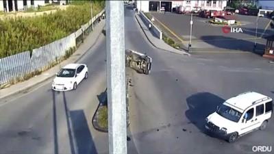 aydinlatma diregi -  Mobese kameralarına yansıyan kazalar, 'bu kadar da olmaz' dedirtti