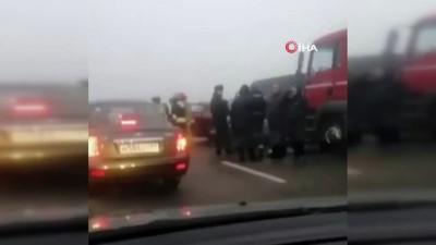 - Rusya'da zincirleme trafik kazası: 2 ölü, 12 yaralı