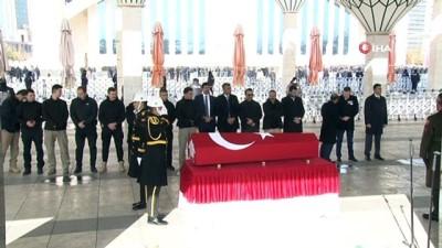 sehit -  Şehit Jandarma Uzman Çavuş Çağrı Toptaş son yolculuğuna uğurlanıyor