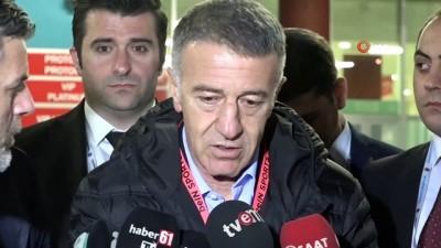 yaris - Trabzonspor Kulübü Başkanı Ahmet Ağaoğlu: 'Son zamanlarda herkes Trabzonspor'un muhasebesini tutmaya başladı'