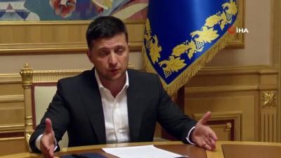 """- Ukrayna Cumhurbaşkanı: """"Bir Şans Daha Veriyorum"""""""