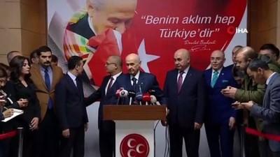teroristler -  Devlet Bahçeli: 'Türkiye'ye göç etmek mecburiyetinde kalan çoluk çocuğu terörist ilan etmek çok ayıp bir değerlendirmedir'