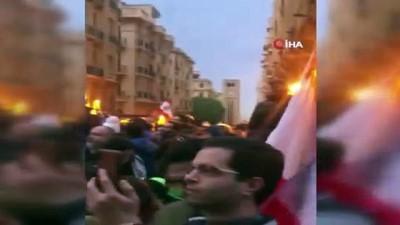guvenlik gucleri -  - Lübnan'da Protestocularla Polis Arasında Arbede: 100 Yaralı