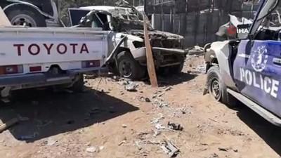 baskent -  - Somali'de Türk müteahhitlere bombalı saldırı