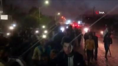 - Bağdat'ta Protestolar Yeniden Alevlendi - Polis, Eylemcilere Biber Gazı Ve Tazyikli Suyla Müdahale Etti