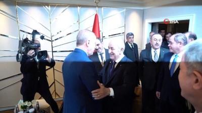 baskent -  - Cumhurbaşkanı Erdoğan, Cezayirli mevkidaşı Tebbun ile görüştü