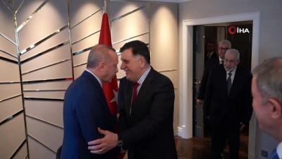 baskent -  - Cumhurbaşkanı Erdoğan, Libya Başbakanı Sarrac'ı kabul etti