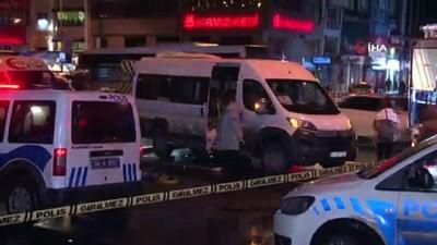 temizlik gorevlisi -  Beşiktaş'ta otomobilin çarptığı kadın minibüsün altında kalarak can verdi