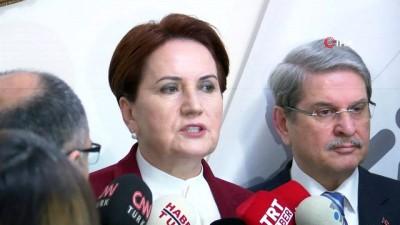 grup toplantisi -  İYİ Parti Genel Başkanı Meral Akşener: 'Bu tezkere hayır getirmeyeceği, milli güvenliğe ters olacağı için 'hayır' oyu vereceğiz'
