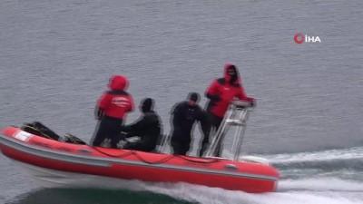 Gülistan'ın bulmak için 3 ROV cihazı ve 150 kişilik ekiple arama çalışması yapılıyor