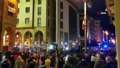 guvenlik gucleri -  - Lübnan'da protestoların 2. gününde 145 kişi yaralandı