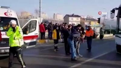 Tanker ile yolcu otobüsü çarpıştı İzle
