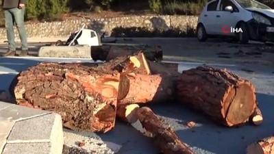 polis -  Ters yönden gelen araç kazaya neden oldu: 1 ölü, 1 yaralı İzle
