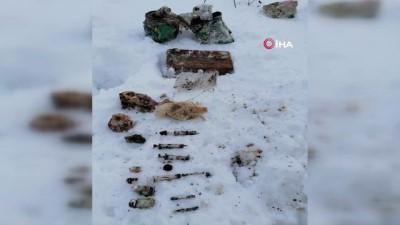 Bitlis'te 3 odalı sığınak tespit edildi