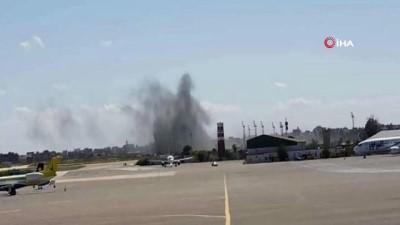 - Hafter Uluslararası Mitiga Havaalanı'na füze ile saldırdı