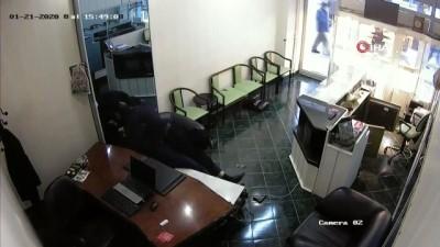 'Kara çarşaflı soyguncu' tutuklandı