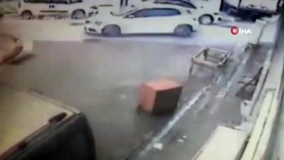 uyusturucu madde -  Polisle zanlılar arasında yaşanan kovalamaca kamerada