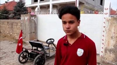 14 Yaşında Kendi Elektrikli Otomobilini Yaptı