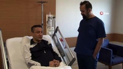 Almanya'da 'ölüm tehliken var' denildi, Elazığ'da 45 dakikada sağlığına kavuştu