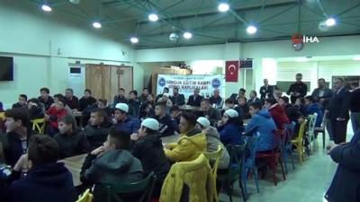 """""""Öncü Gençlik Kampı"""" Göbel Termal Tesisleri'nde gerçekleştiriliyor"""