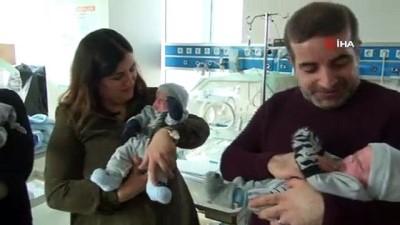cakal -  6 yıldır evlat hasreti çeken ailenin dördüz sevinci