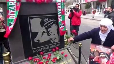 anma toreni -  Diyarbakırlılar Şehit Emniyet Müdürü Okkan'ı unutmadı