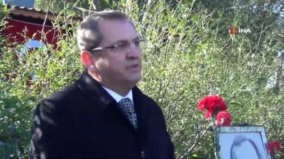 Gazeteci-Yazar Uğur Mumcu Ayvalık'taki evi önünde anıldı