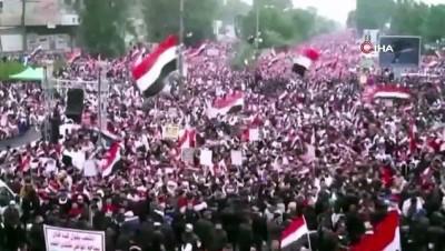 - Irak'ta bu kez ABD karşıtı protestolar başladı