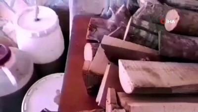 sahte icki -  Mersin'de 465 litre sahte içki ele geçirildi