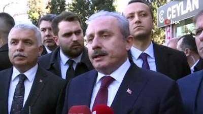 """TBMM Başkanı Prof. Dr. Şentop, """"Türkiye gerektiği zaman gereken adımları atar"""""""