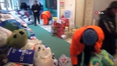 Aksaray'dan Elazığ'daki depremzedelere yardım seferberliği