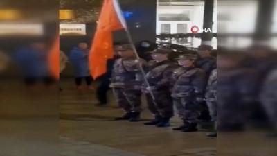 - Çin'de korona virüsüyle mücadeleye ordudan destek - Wuhan'a 450 askeri sağlık görevlisi gönderildi
