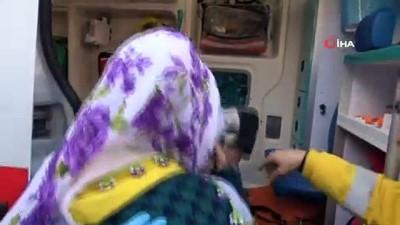 - Fatih'te 3 katlı bina alev alev yandı - Anne ve çocuğu alevlerden son anda kurtuldu