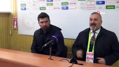 toplanti - Giresunspor - Ümraniyespor maçının ardından