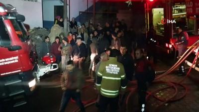 Nazilli'de çıkan yangında 8 ev küle döndü
