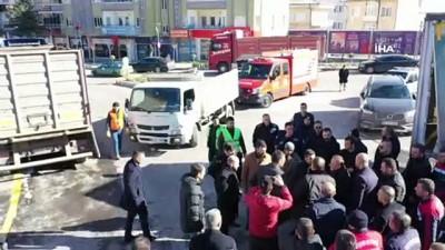 Nevşehir, Elazığ için seferber oldu