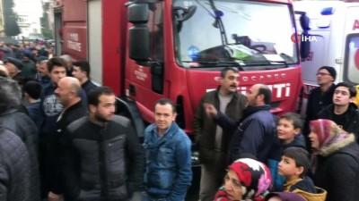 yangina mudahale -  Ordu'da korkutan yangın... Bina alev alev yandı