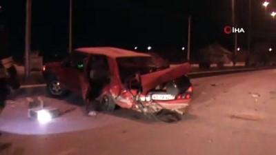 bild -  Seydişehir'de otomobiller çarpıştı: 3 yaralı