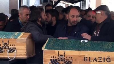 Bir tabutta 2 cenaze... Depremde hayatını kaybedenler son yolculuklarına uğurlanıyor