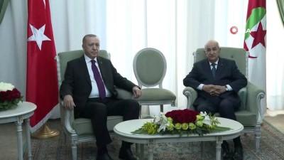 toplanti -  - Cumhurbaşkanı Erdoğan, Cezayir Cumhurbaşkanı Tebbun ile görüştü