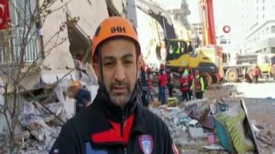 bild -  İHH inegöl arama kurtarma ekipleri deprem bölgesinde