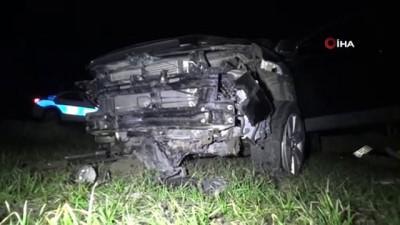 Tekirdağ'da trafik kazası: 2 yaralı İzle