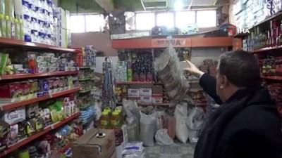Başkan Gürkan depremde hasar gören yerleri ziyaret etti
