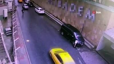 Beyoğlu'nda bir kişinin para dolu poşetini çalan kapkaççı 3 ay sonra yakalandı