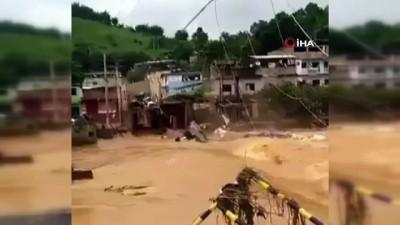 - Brezilya'da sel felaketinde ölü sayısı 53'e yükseldi