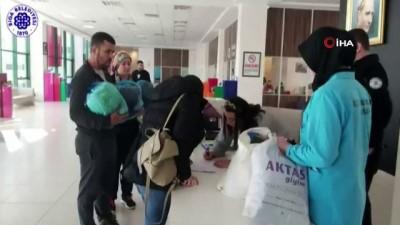 Çanakkale'den depremzedelere yardım eli