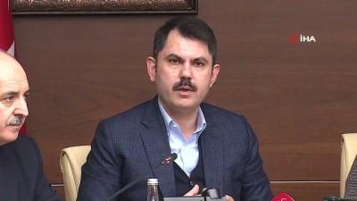 Çevre ve Şehircilik Bakanı Murat Kurum, deprem sonrası yıkılan ve hasar gören bina sayısını açıkladı